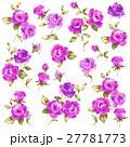 薔薇 花 花柄のイラスト 27781773