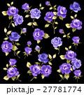 薔薇 花 花柄のイラスト 27781774