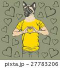 ベクター ねこ ネコのイラスト 27783206