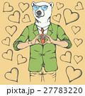 ベクター くま クマのイラスト 27783220