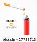 ライター 紙巻タバコ タバコのイラスト 27783713