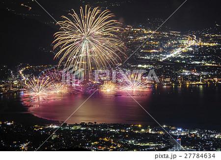 【長野県】諏訪湖祭湖上花火大会 27784634