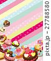 ベクター スイーツ 洋菓子のイラスト 27788580