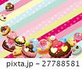 ベクター スイーツ 洋菓子のイラスト 27788581