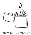 ライター 炎 スケッチのイラスト 27792672