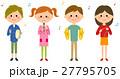 子供 学生 ベクターのイラスト 27795705