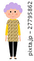 高齢者 シルバー 女性のイラスト 27795862
