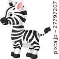 cute zebra cartoon 27797207