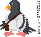 Cartoon funny pigeon bird 27797211