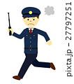 警察官 男性 人物のイラスト 27797251