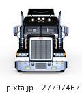 トレーラー トラック 車のイラスト 27797467