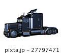 トレーラー トラック 車のイラスト 27797471