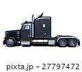 トレーラー トラック 車のイラスト 27797472