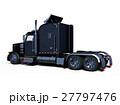 トレーラー トラック 車のイラスト 27797476