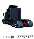 トレーラー トラック 車のイラスト 27797477