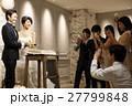 結婚式 ケーキ入刀 27799848