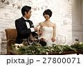 結婚式 新郎 新婦の写真 27800071