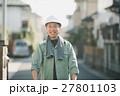 作業員 ヘルメット 男性の写真 27801103