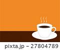 ホットコーヒー 27804789
