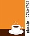 ホットコーヒー 27804792