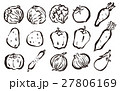 野菜筆イラストセット 27806169