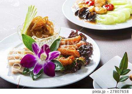 中華前菜三種盛り 27807658