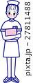 ナース 女性 看護婦のイラスト 27811488