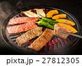 和牛 焼肉 牛肉の写真 27812305