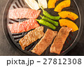 高級和牛の焼肉セット Japanese beef roasted meat set 27812308
