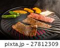 和牛 焼肉 牛肉の写真 27812309