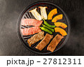 高級和牛の焼肉セット Japanese beef roasted meat set 27812311