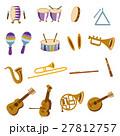 楽器のイラストセット 27812757