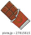 板チョコ チョコレート お菓子のイラスト 27815615