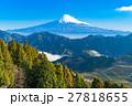 【静岡県】富士山と茶畑 27818655