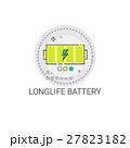 バッテリー 電池 アイコンのイラスト 27823182