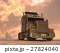 トレーラー セミトレーラー cgのイラスト 27824040