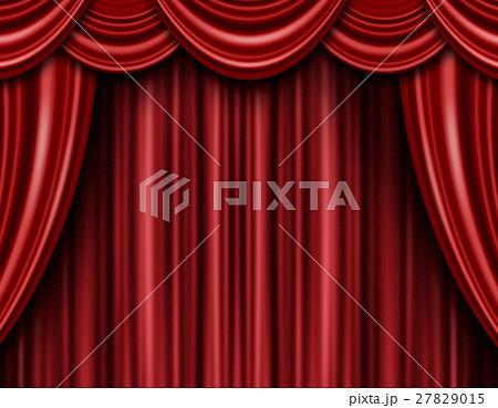 舞台 カーテン ステージ 27829015