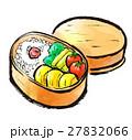筆描き お弁当 27832066