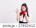 女性 人物 糸の写真 27832412