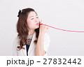 女性 人物 糸の写真 27832442