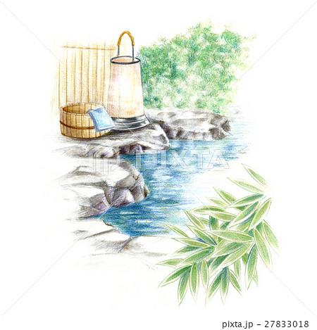 露天風呂でリラックス〜 27833018