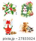 クリスマス オーナメント サンタクロースのイラスト 27833024