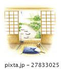 中庭を望む和室 27833025