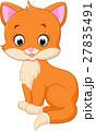 Cute cat cartoon 27835491