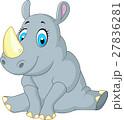 サイ 漫画 動物のイラスト 27836281