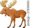 鹿 マンガ 動物のイラスト 27838993