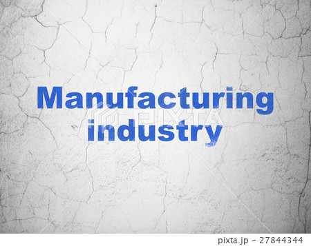 Manufacuring concept: Manufacturing Industry on 27844344