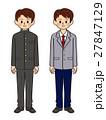 中学生 高校生 男の子のイラスト 27847129