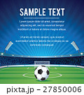 Abstract Sport Soccer Background with Copy Space 27850006