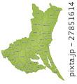 茨城 茨城県 地図のイラスト 27851614